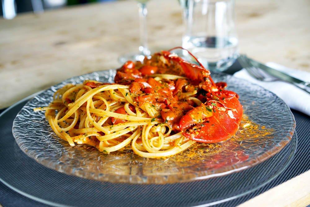 Linguina Marulo con Astice