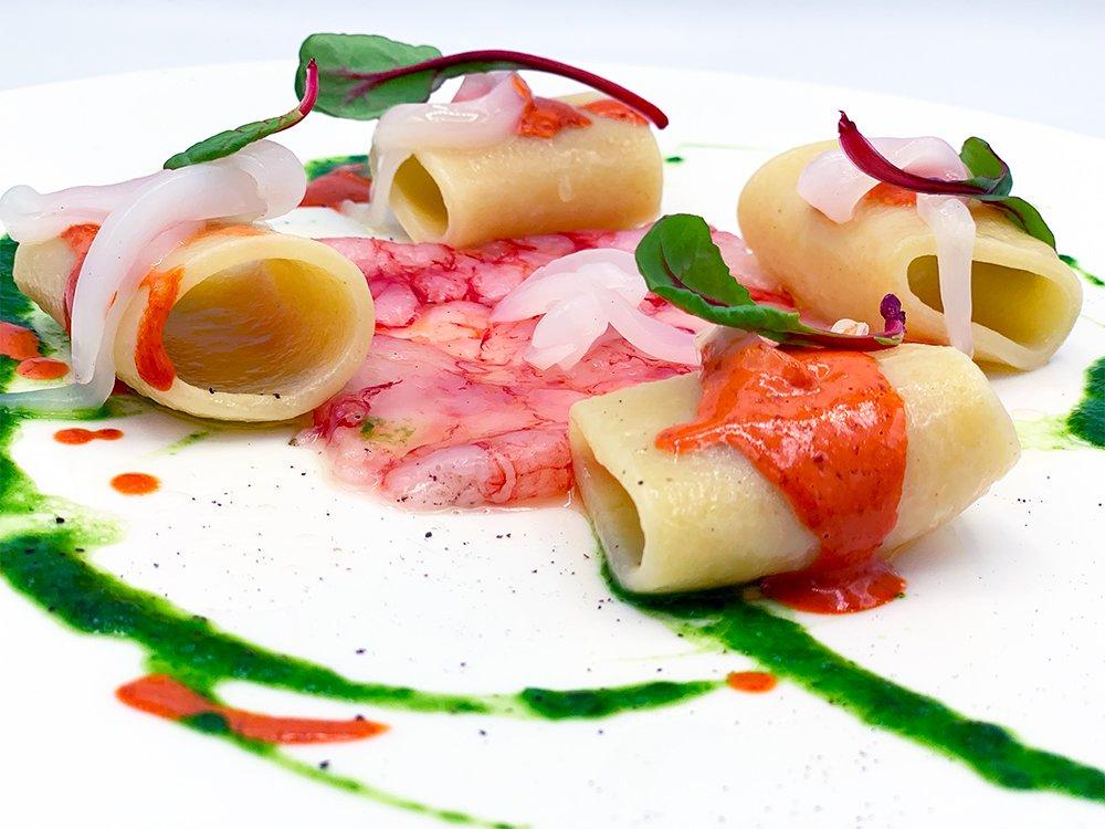 Ricetta Paccheri artigianali Marulo